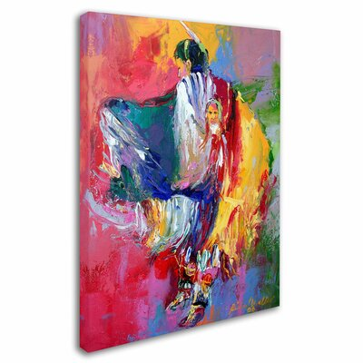 'Pow' by Richard Wallich Canvas Art by Trademark Art
