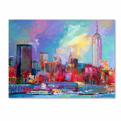 'Empire' by Richard Wallich Canvas Art by Trademark Art