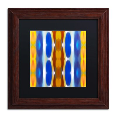'Winter Forest Square 8' by Amy Vangsgard Framed Graphic Art by Trademark Art