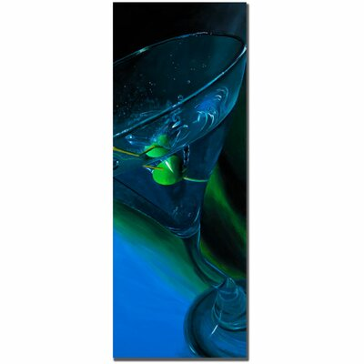 Trademark Fine Art 'Bluetini' by Roderick Stevens Photographic Print on Canvas