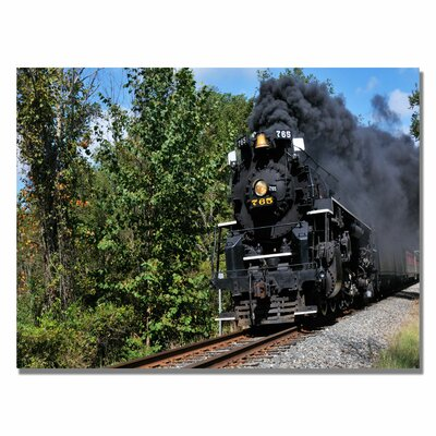 Trademark Fine Art 'Old Cuyahoga Valley Line' by Kurt Shaffer Wrapped Photographic Print on Canvas