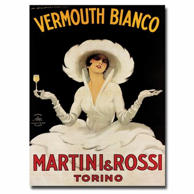 Trademark Art Quot Vermouth Bianco Martini Rossi Quot By Marcello