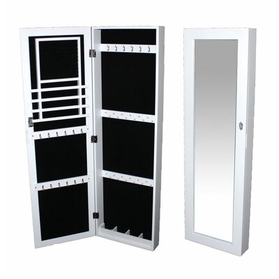 Jewelry Armoire with Mirror by Entrada