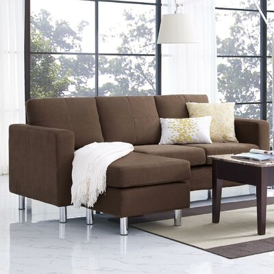 Small Spaces Configurable Sofa Sectional by Dorel Living