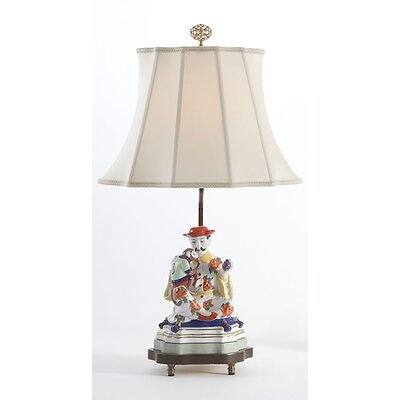 "Chelsea House Figure Man 24"" H Table Lamp with Bell Shade"