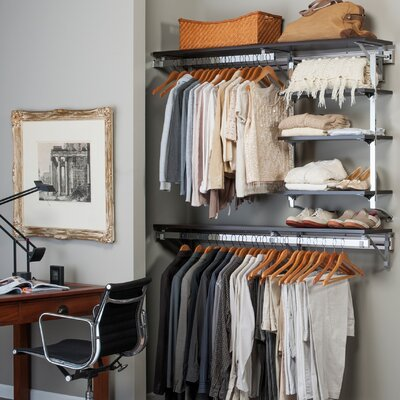 Arrange a Space Closet Shelving System Product Photo