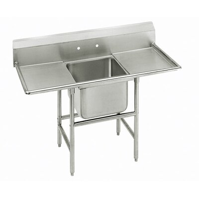 Advance Tabco 940 Series Single Seamless Bowl Scullery Sink