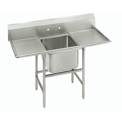 Advance Tabco 940 Series Double Seamless Bowl Scullery Sink