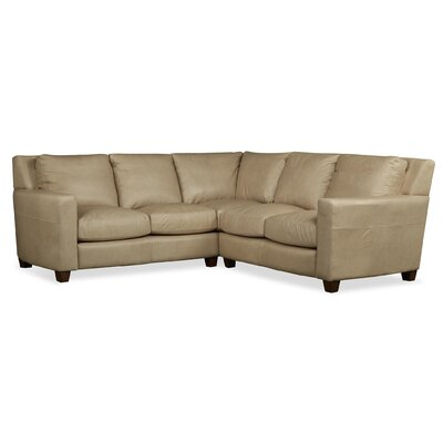 Marin Leather Sectional by Palatial Furniture