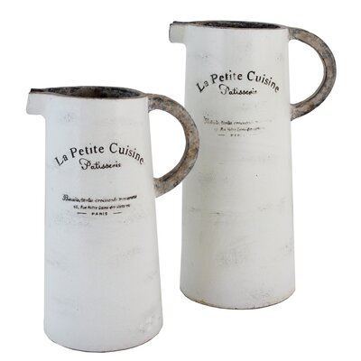 2 Piece Patisserie Pitcher Set by Selectives