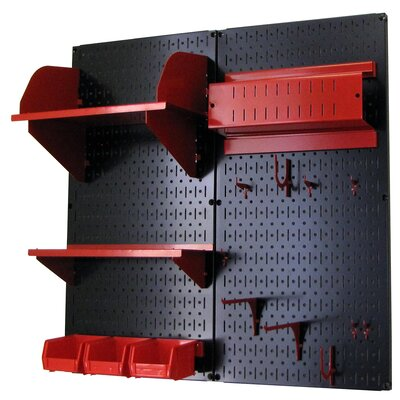 Wall Control Hobby Craft Pegboard Organizer Storage Kit