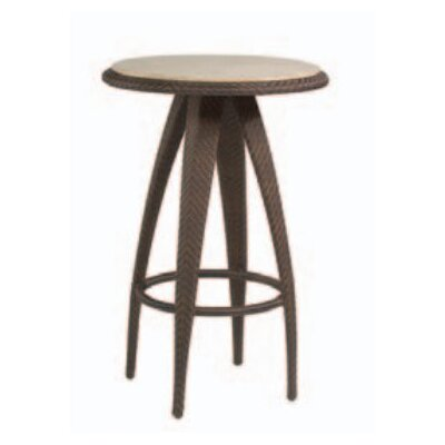 Bali Bar Table with Stone Top by Whitecraft
