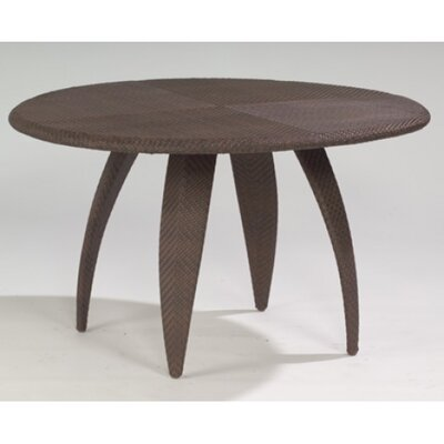 Bali Round Dining Table with Woven Top by Whitecraft