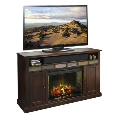 Fire Creek TV Stand with Electric Fireplace by Legends Furniture