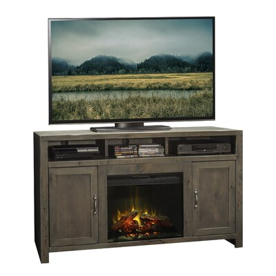 Joshua Creek TV Stand with Electric Fireplace by Legends Furniture