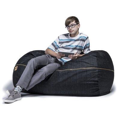 Denim 4' Bean Bag Lounger by Jaxx