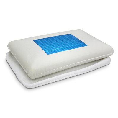 Gel Top Microfiber Pillow by Ideal Comfort