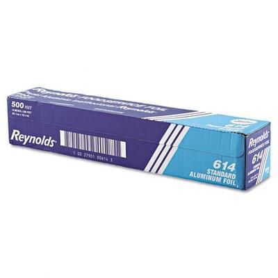 "Reynolds Wrap 18"" x 500' Wrap Standard Aluminum Foil Roll"