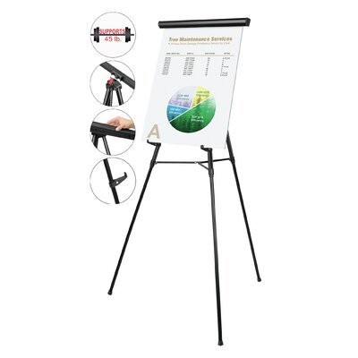 Mastervision Telescoping Tripod Display Easel