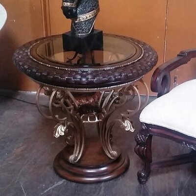 Corsican End Table by Benetti's Italia
