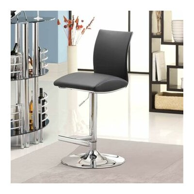 Whalen Furniture Navigator Adjustable Height Swivel Bar