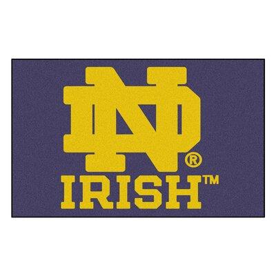 Collegiate Notre Dame Doormat by FANMATS
