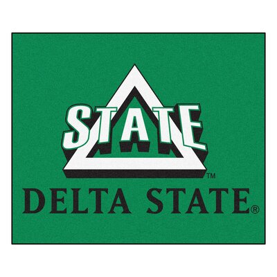 Collegiate Delta State University Tailgater Outdoor Area Rug by FANMATS