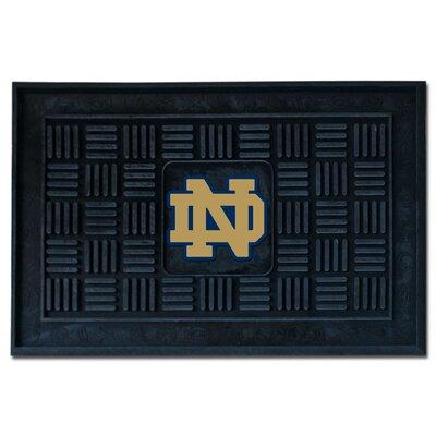 Collegiate Notre Dame 1 Medallion Doormat by FANMATS