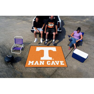 Collegiate University of Tennessee Man Cave Tailgater Outdoor Area Rug by FANMATS