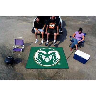 Collegiate Colorado State Tailgater Outdoor Area Rug by FANMATS