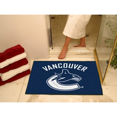 FANMATS NHL Vancouver Canucks Starter Doormat