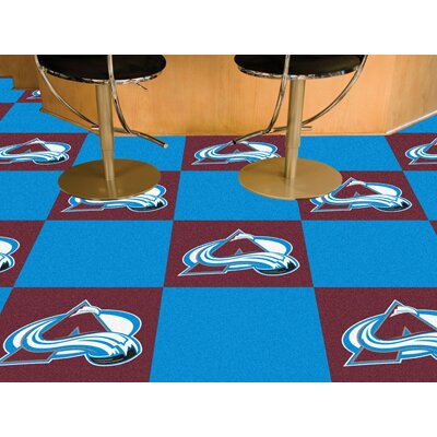 "FANMATS NHL Team 18"" x 18"" Carpet Tile"