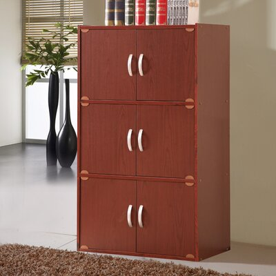 Hodedah 6 Door Storage Cabinet