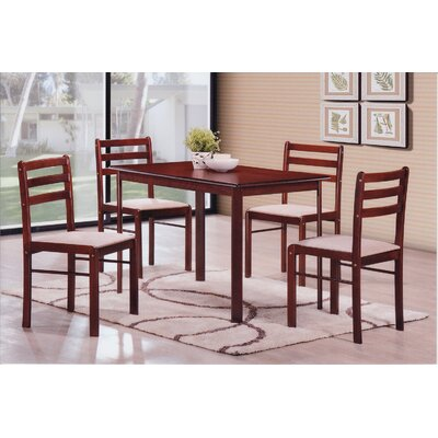 5 Piece Dining Set by Hodedah