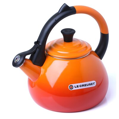 Enamel On Steel 1.6 Qt. Oolong Tea Kettle by Le Creuset