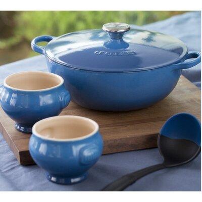 Stoneware 4.25-qt. Soup Pot Set with Lid by Le Creuset