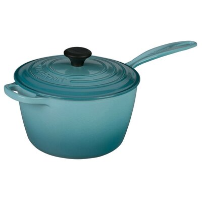 Saucepan with Lid by Le Creuset