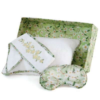 Scent-Sation Bella and Bliss Spa Bath Cotton Throw Pillow