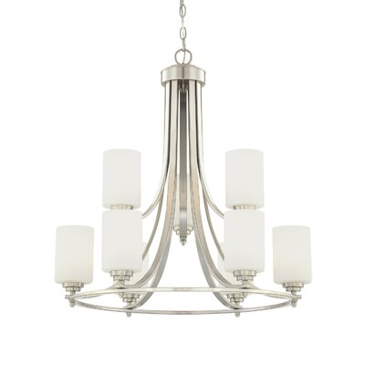 Bristo 9 Light Chandelier Product Photo