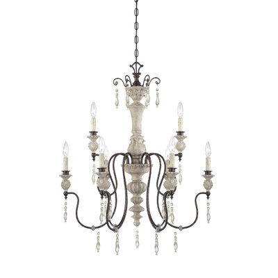 Denise 9 Light Mini Chandelier Product Photo