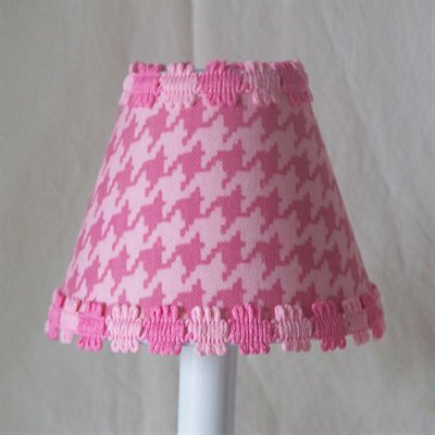 Silly Bear Lighting Candy Coated Houndstooth Table Lamp Shade