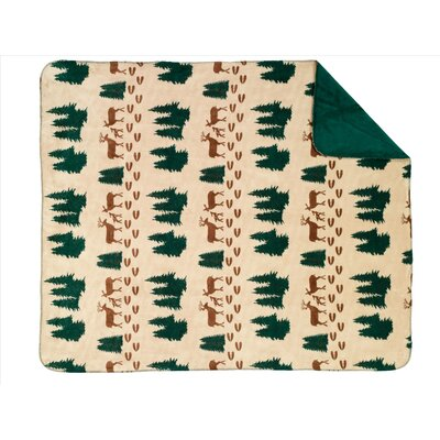 Denali Throws  Deer Double-Sided Throw