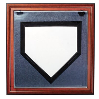 """Caseworks International Full Size Home Plate """"Case-Up"""" Display"""