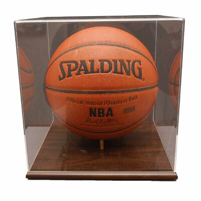 Caseworks International Basketball Display Case in Acrylic Base