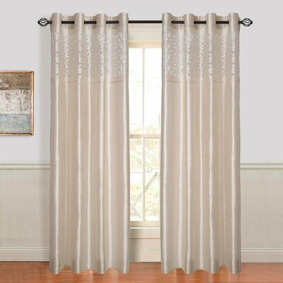 Lavish Home Karla Laser Cut Grommet Single Curtain Panel & Reviews ...