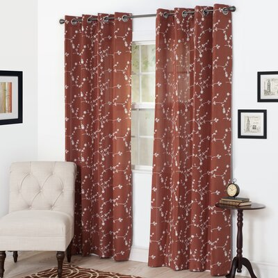 Inas Single Curtain Panel Product Photo