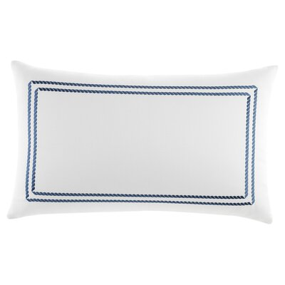 Maritime Frame Embroidered Lumbar Pillow by Southern Tide