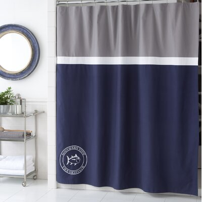 Starboard Cotton Shower Curtain by Southern Tide
