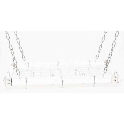 Gourmet Custom Contrasting Hanging Pot Rack by Rogar