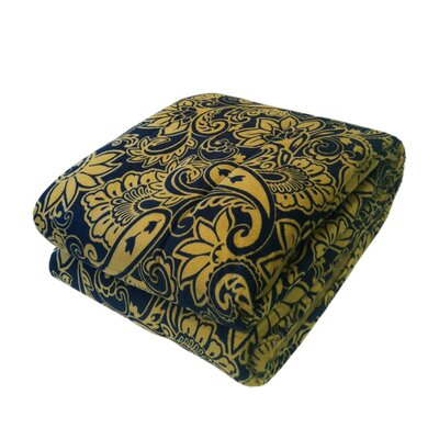 Bauhaus Quilted Printed Mink Throw by Northpoint Trading Inc.